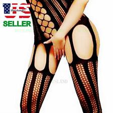 Chemise Women Nightwear Bodysuit Body Stocking Fishnet Bodystocking New Lingerie