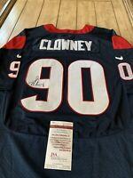 Jadeveon Clowney Autographed/Signed Jersey JSA COA Houston Texans Star