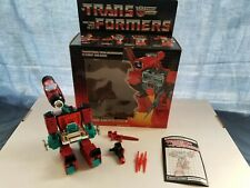 Transformers G1 Perceptor - Complete Box, Instructions - Hasbro, Vintage
