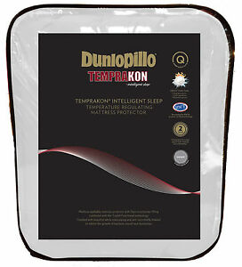 Dunlopillo Temprakon Temperature Regulating Mattress Protector KING & QUEEN Bed