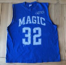 SHAQ!! 90s vtg SHAQUILLE ONEAL orlando magic T SHIRT basketball JERSEY XL