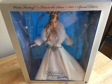 2003 Holiday Visions Barbie Winter Fantasy First in the Series Special Edition