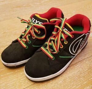 Heelys Sneaker Gr. 36,5 Propel 2.0 Farbe Black Reggae Rollschuhe, OVP, Zubehör