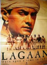 LAGAAN : ONCE UPON A TIME IN INDIA  BOLLYWOOD POSTER # 2 AAMIR KHAN