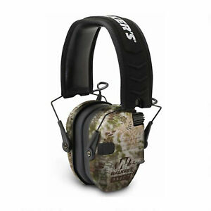 Walker's Razor Slim Shooter Folding Ear Protection Muffs with NRR of 23dB, Camo
