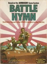 BATTLE OF HYMN : SOLITARE SQUAD LEVEL WWII COMBAT IN THE PACIFIC - VICTORY GAMES
