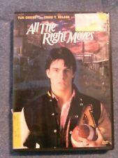 All the Right Moves (2009 DVD) Tom Cruise, Lea Thompson, Craig Nelson, Cioffi