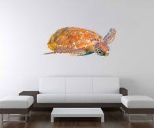 3D Wandtattoo Schildkröte Ozean Wasser Wand Aufkleber Wandbild Wandsticker A3D53