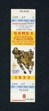 1977 Atlanta Falcons vs. New Orleans Saints NFL Football Game Unused Ticket