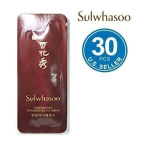 Sulwhasoo Timetreasure Invigorating Eye Serum 1ml x 30pcs Anti-Aging Wrinkle