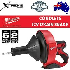 Milwaukee M12 Cordless 12v Drain Snake - Tool Only #M12BDC8-0C