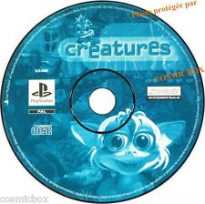 PlayStation 1 CREATURES 1 jeu video SONY psx ps1 ps2 ps one game testé fonctione