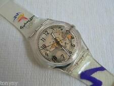 2000 Swatch Watch Olympic special Glorious Runner GK295 New