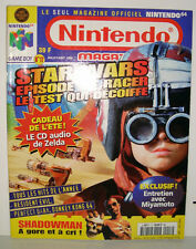 MAGAZINE NINTENDO OFFICIELLE NINTENDO 64 GAME BOY N°17 JUILLET AOUT 1999