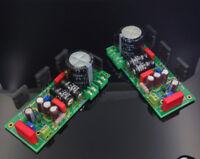 One pair Hood 1969 Class A power amp kit/board  25W+25W Toshiba 2SC5200   L11-16