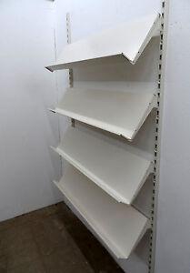 Zeitungsregal 125cm + 2 Wandschienen 2m Regal Zeitschriften Tego/Eden/Vendox