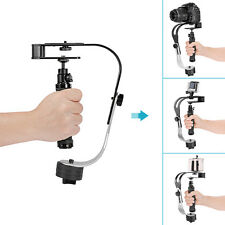 Neewer Portable Aluminum Alloy Video Camera Handheld Stabilizer (Black)