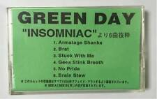 GREEN DAY - INSOMNIAC - 6 TRACK PROMO CASSETTE TAPE - JAPANESE IMPORT - VERYRARE