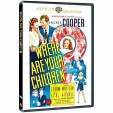 Where Are Your Children (DVD, 2013) - WB Archive Collection <a99>