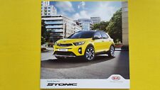 Kia Stonic 2 First Edition car brochure sales catalogue October 2017 MINT