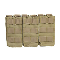 NcStar CVAR3MP2928T TAN Holds 3 Rifle Magazine Pouch Holster