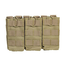 NcStar CVAR3MP2928T TAN Holds 3 AR Style 5.56/223 or 7.62x39 Mag Pouch