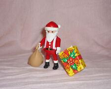 Weihnachtsmann mit Gabensack & Geschenk aus Playmobil 'Weihnachtsabend' Set 3931