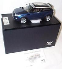 2011 Range Rover Evoque Baltic Blue 1:18 SCALE New CDLR1002 Century Dragon