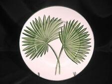 "Vietri Villa Palma Sago Palm Charger Plate Display 12 3/8"" diameter"