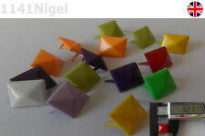 12mm Punk Pyramid Studs Nailheads, Clothes Shoes Bags Decoration