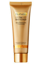 [BIO-ESSENCE] 24K Bio-Gold Skin Radiance Moisturizing Facial Cleanser 100ml NEW