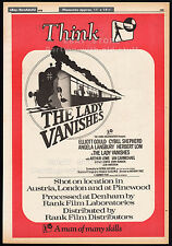 THE LADY VANISHES__Original 1979 Trade AD / poster__ELLIOTT GOULD__A Hammer Film