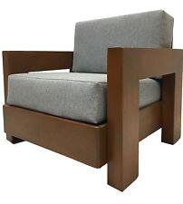 Vintage Mid Century Modern Retro Brutalist Lounge Chair Milo Baughman Era