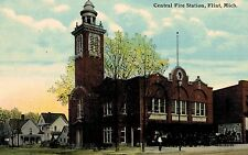 Flint,Michigan,Central Fire Station,c.1909