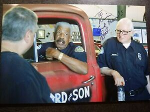HAL WILLIAMS As SMITTY Hand Signed Autograph ON BACK OF 4X6Photo SANFORD & SON