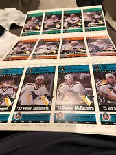 Pittsburgh Penguins Hockey 1994 Stanley CUP Tickets 12 Piece Lot