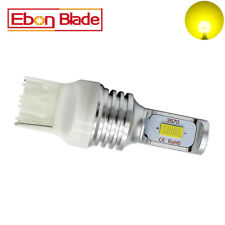 2X Yellow T20 W21W 7440 CSP 72W LED Bulbs Turn Signal Lights Canbus Lamp 12V-24V