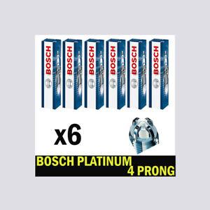 Spark Plugs 6x FOR BMW X5 E53 00->06 3.0 M54B30 306S3 E53 231bhp Bosch