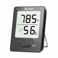Indoor Room Thermometer, [Mini Style] Humidity Meter, Hygrometer Thermometer