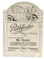 """VINTAGE PRINT AD , 1917 ,  PATHFINDER """" KING OF TWELVES"""", MILWAUKEE - ORIGINAL"""