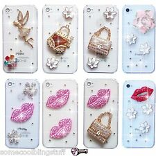 Nouveau 3D Angel Bling delux strass Sparkle Housse 4 Samsung Iphone Sony Htc
