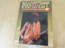 Led Zeppelin 1977-1980 live Cd collection/guide book Japan very rare