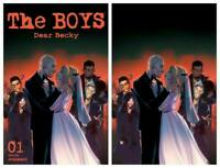 THE BOYS DEAR BECKY #1 MIRKA ANDOLFO VIRGIN TRADE VARIANT SET - LTD TO 300