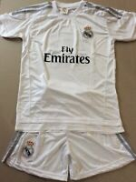 2015-2016 JERSEY  BRAND NEW BOYS COLOR WHITE SIZE 164 (AGES 10-11)