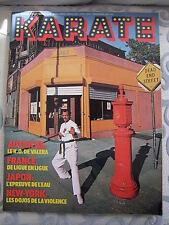 Revues karaté Complète N° 28  Bruce lee kung fu  arts martiaux  magazines