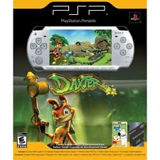 PlayStation Portable Limited Edition Daxter Ice Silver PSP 2000 1GB Very Good 8Z