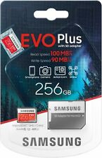 Samsung - EVO Plus 256GB microSDXC UHS-I Memory Card