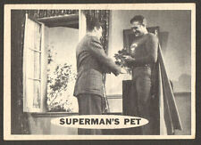 SUPERMAN original 1950'S tv series # 47 trading card GEORGE REEVES/JACK LARSON