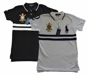 NWT Ralph Lauren short sleeve, Crest polo Cotton T-shirts
