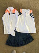 Women's Sofibella tennis outfit, M